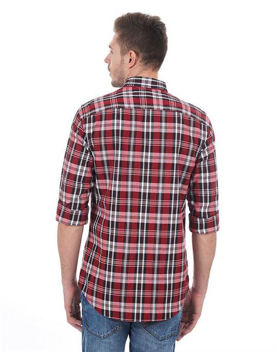 Tommy Hilfiger Casual Checkered Men Shirt