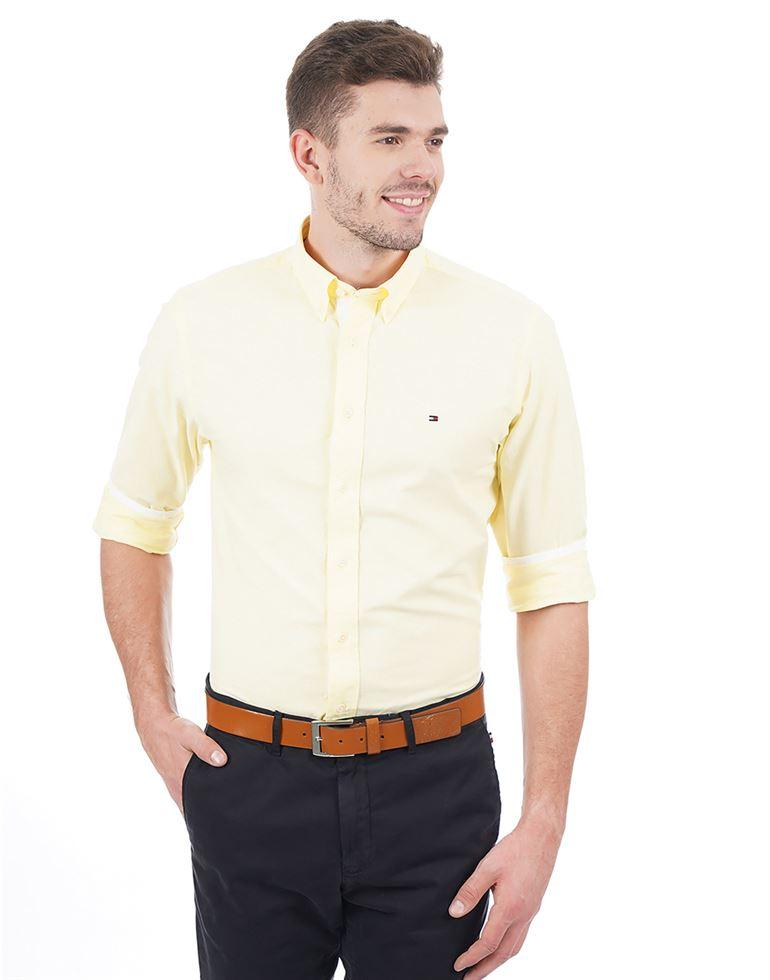 Tommy Hilfiger Casual Solid Men Shirt
