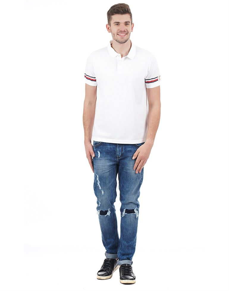 Tommy Hilfiger Casual Solid Men T-Shirt