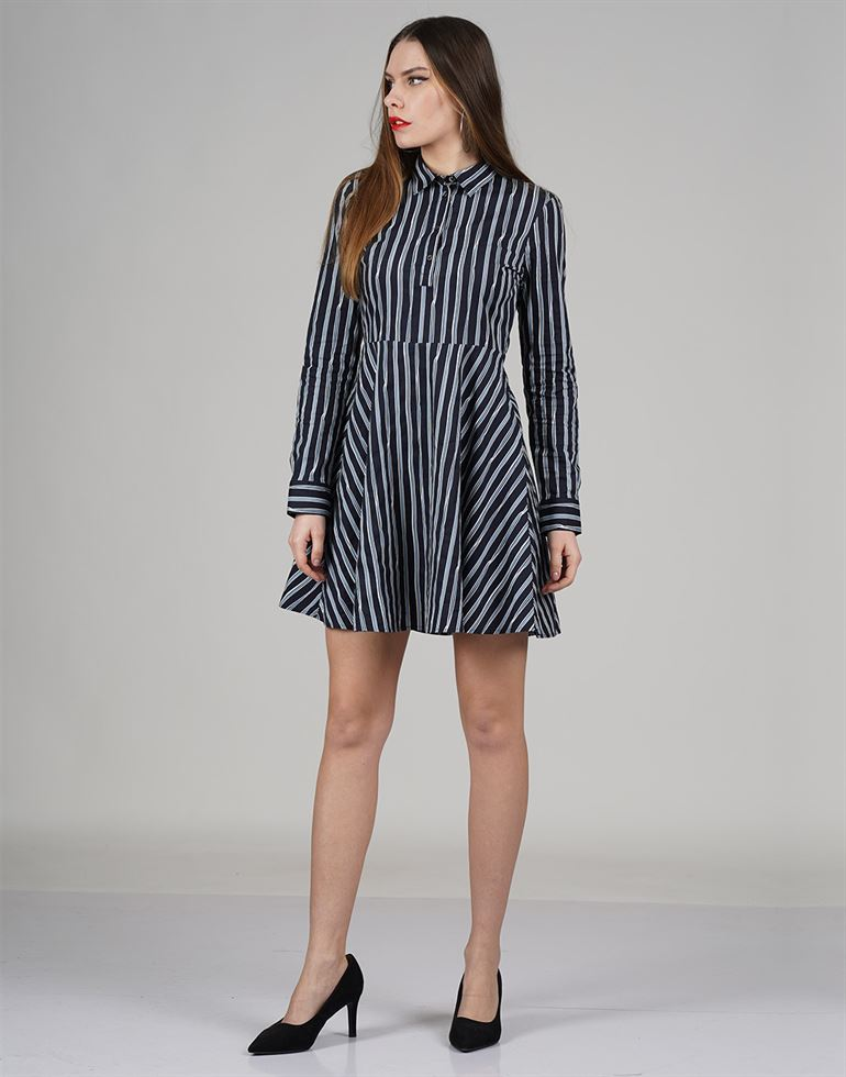 Tommy Hilfiger Casual Striped Women Dresses
