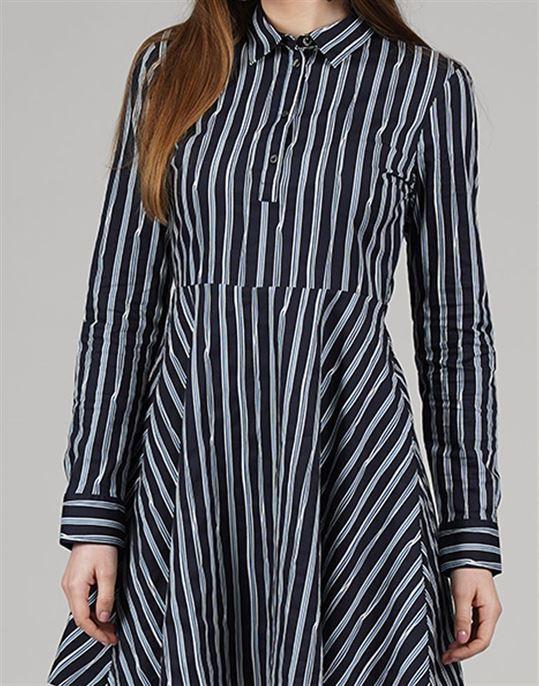 Tommy Hilfiger Casual Striped Women Dress
