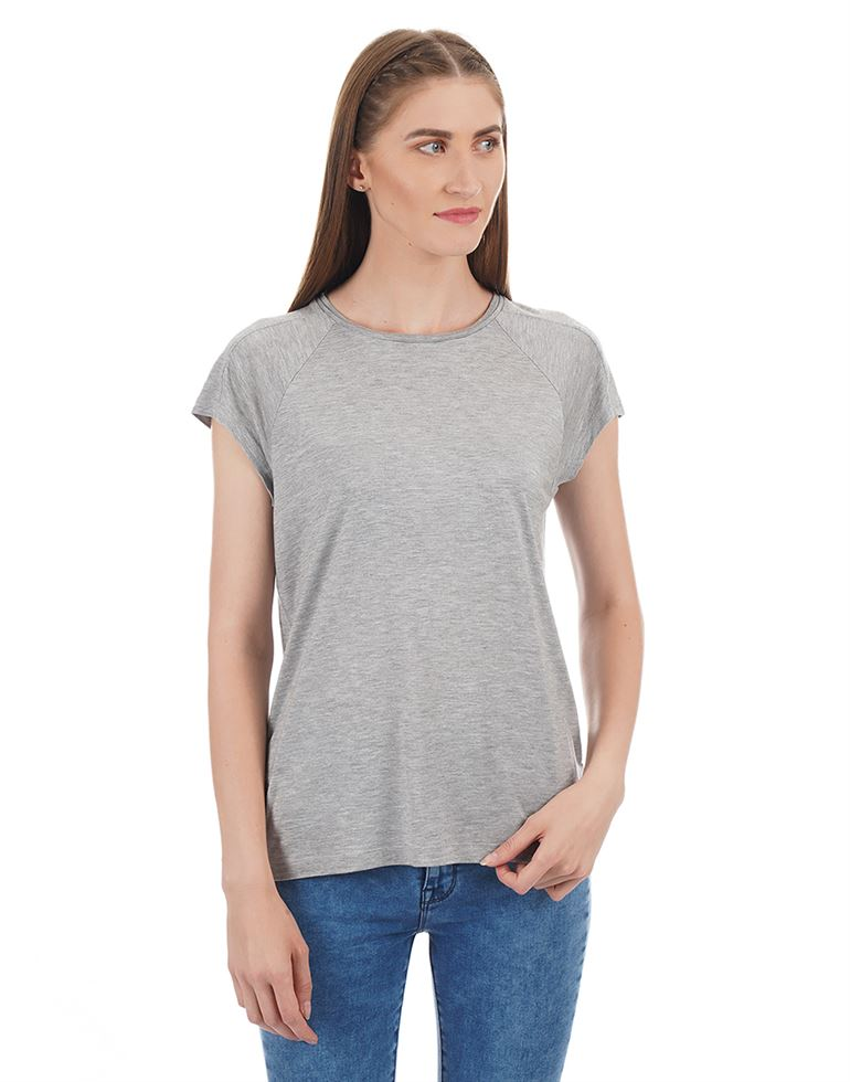 Tommy Hilfiger Women Solid Casual Wear T-shirt