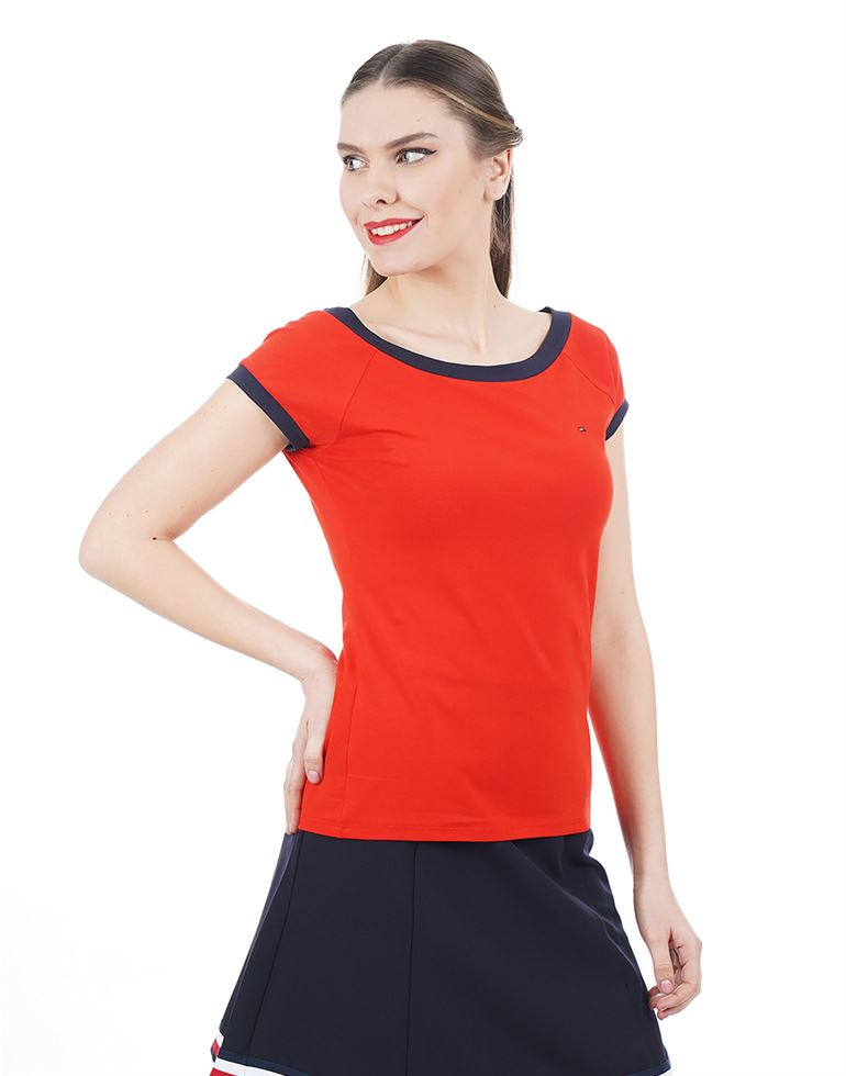 Tommy Hilfiger Casual Solid Women Top