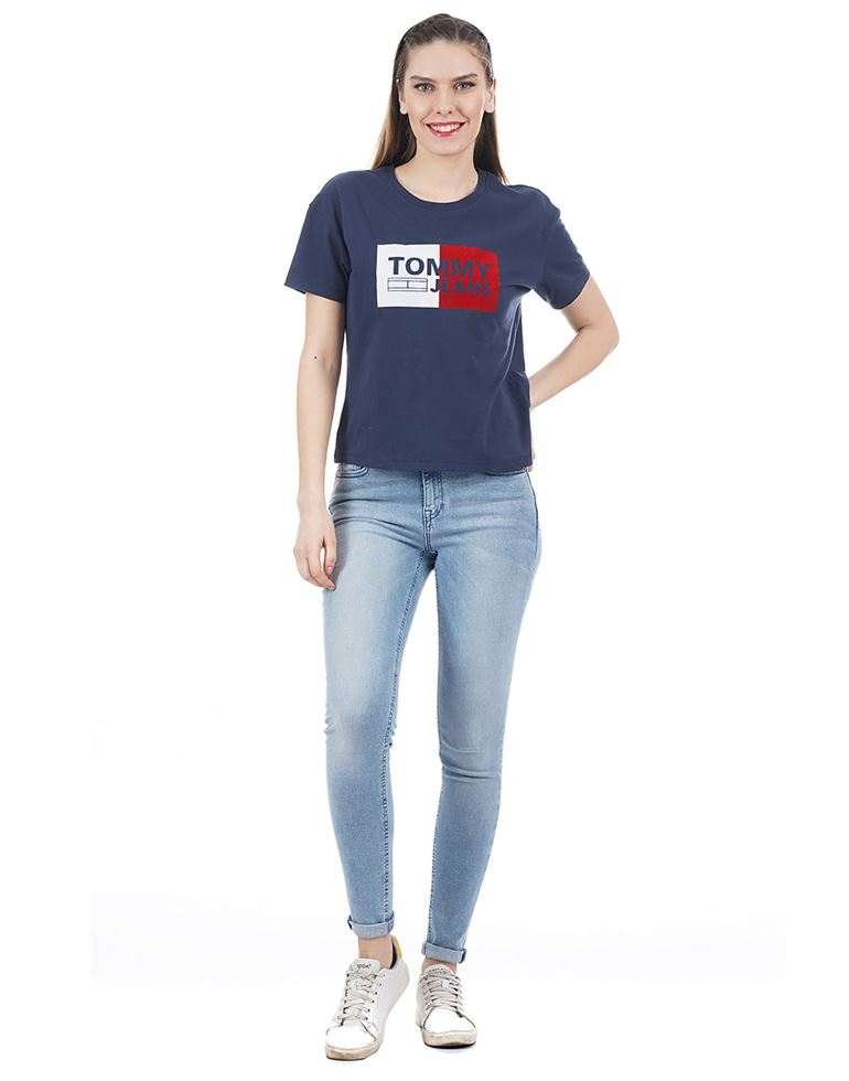 Tommy Hilfiger Women Casual Wear Graphic Print Top