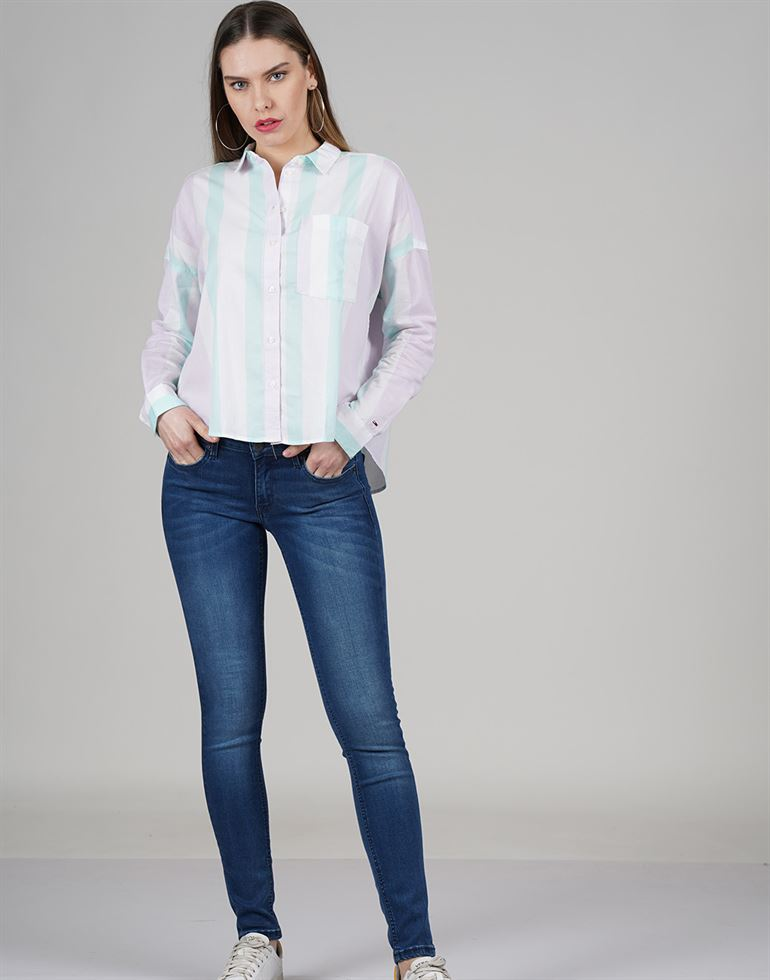 Tommy Hilfiger Casual Striped Women Top