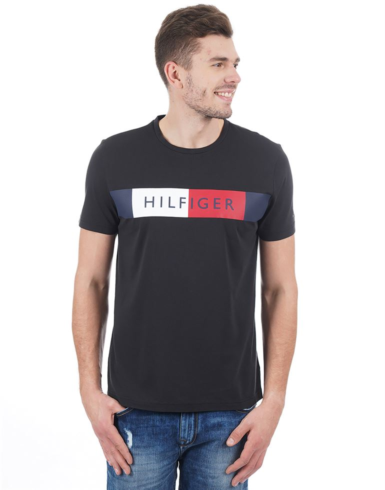 Tommy Hilfiger Casual Graphic Print Men T-Shirt