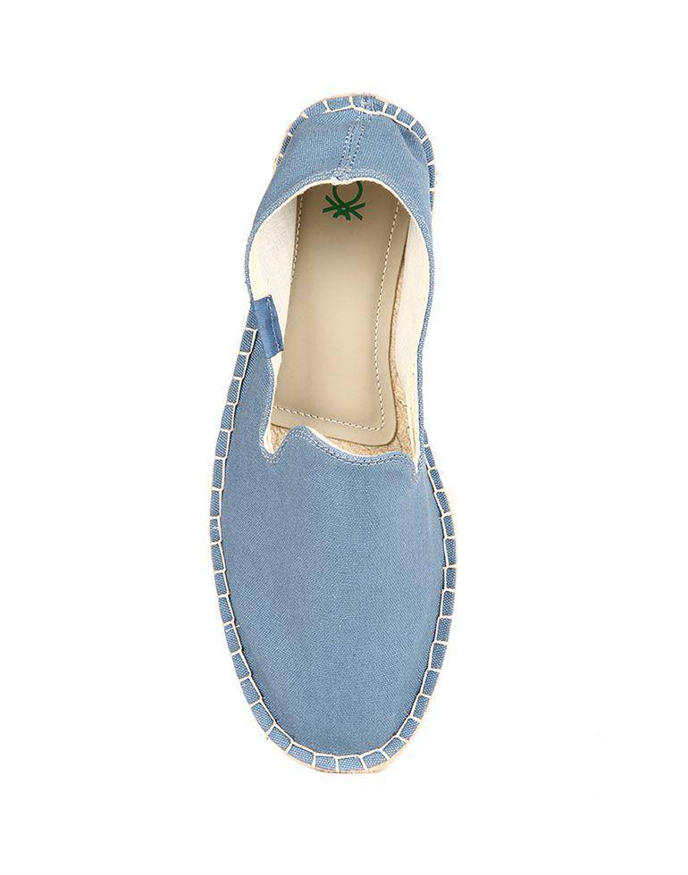 United Colors of Benetton Men Blue Slip Ons